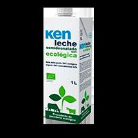 <strong>Ken</strong> Leche Ecol&oacute;gica semidesnatada 1L.
