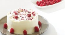 Tarta de Frambuesas y Crema de Queso
