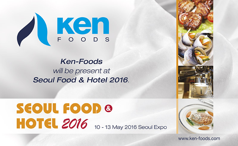 Ken Foods at Seoul Food & Hotel 2016.
