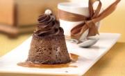 receta flan de chocolate realizada con trufa Ken