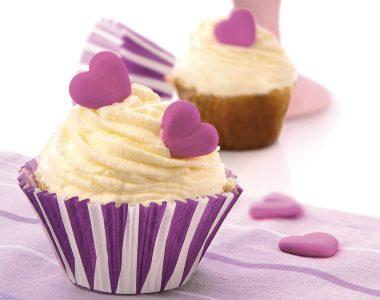 Heart of Cheese Cupcake