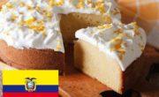 postre de ecuador, torta de las tres leches 2
