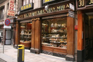 Pastelería Casa Mira de Madrid