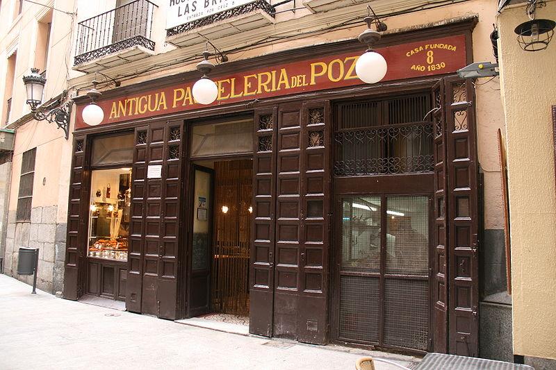 Pastelería El Pozo de Madrid