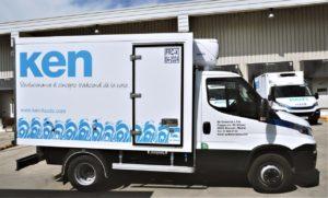 vehículo de reparto natas Ken