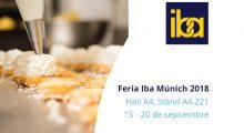 Ken-Foods asistirá a la Feria IBA de Múnich 2018