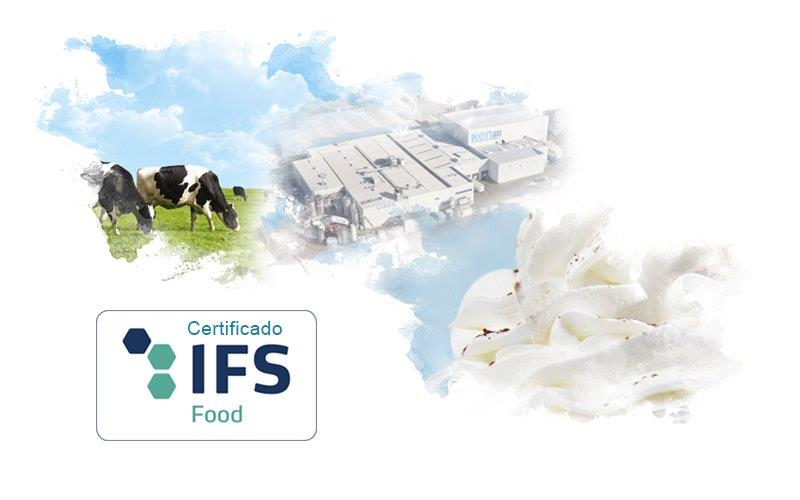 certificado IFS de ken-Foods