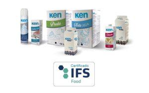 Natas y preparados lácteos Ken-Foods