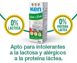 nata vegetal sin lactosa y sin proteína láctea