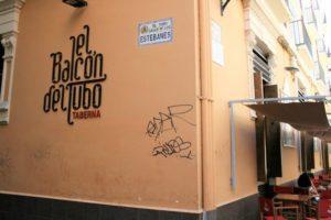 Taberna típica del barrio del tubo de Zaragoza