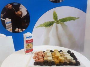 Stand Ken-Foods, feria Sigep 2019, Rímini, iIalia