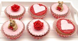 Cupcake San Valentín