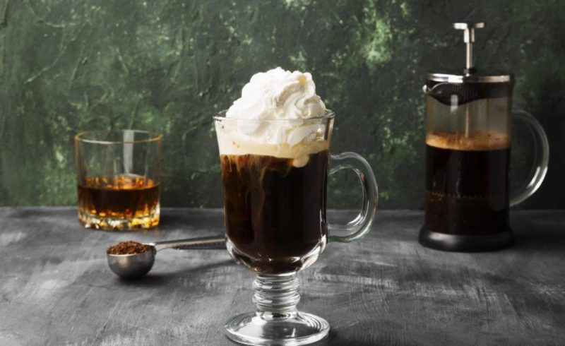 café irlandes con nata en spray Ken - Foods