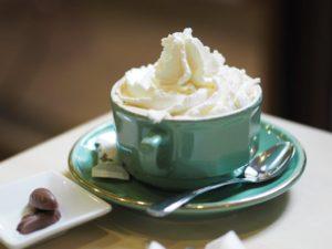 café vienés, nata en spray ken-foods