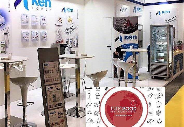 stand ken foods feria tuttofood milán
