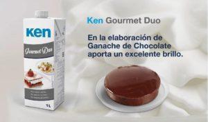 ken gourmet duo, ganache de chocolate