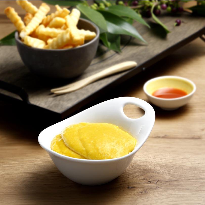 Allioli Tailandes con chips de pulpo o patatas Ken Foods