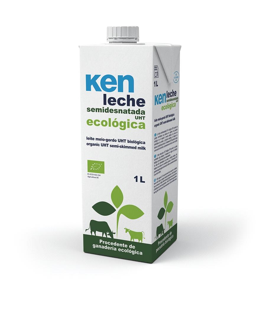 Leche UHT Ecológica Semidesnatada