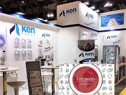 Ken – Foods en la Feria Tutto Food de Milán, Italia