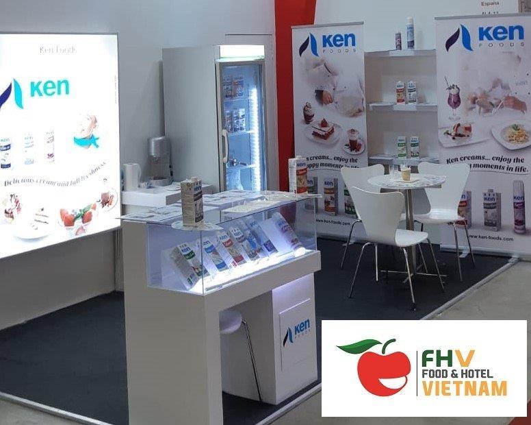 Ken – Foods asistió a la Feria Food Hotel en Vietnam