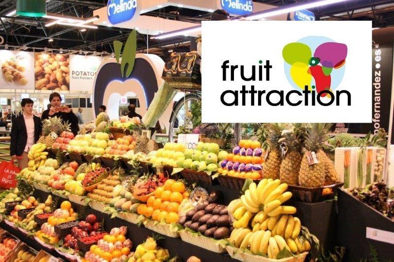 Todo listo para la 9 ª edición de la Fruit Attraction, feria internacional del sector de la fruta y la hortaliza