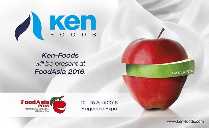 Ken-Foods asistirá a la Feria Internacional Food Asia 2016