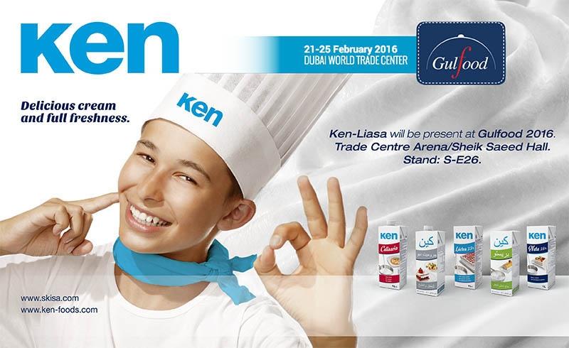 Ken – Foods asistirá a la Feria Gulfood en Dubai